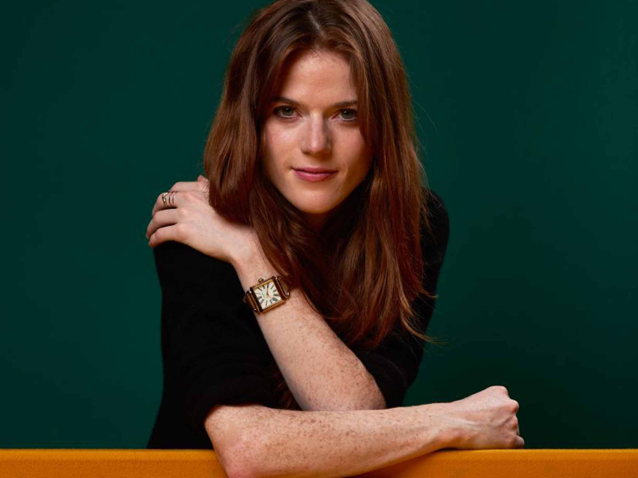 Rose Leslie On Being Idris Elba39s Co Star In 39luther39 And