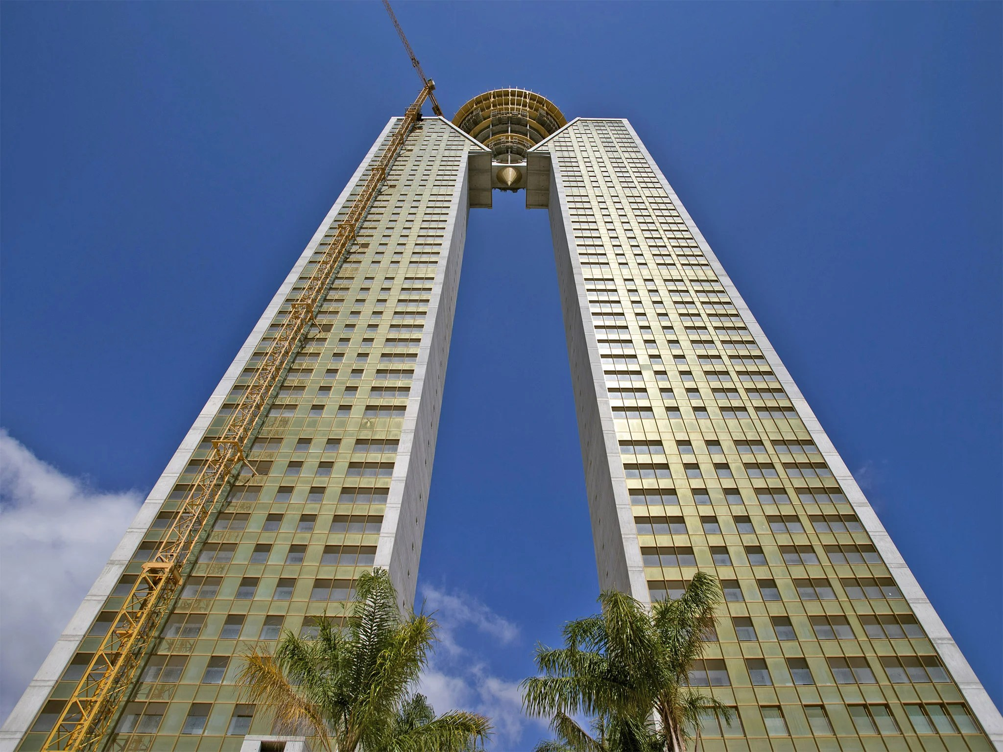 Futuristic Iphone X Wallpaper Benidorm S Towering Monument To Spain S Debt Disaster