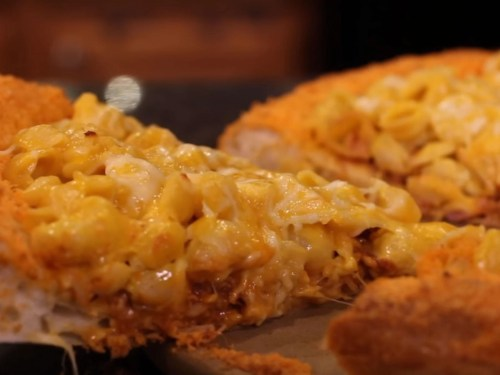 Medium Of Mac N Cheese Pizza