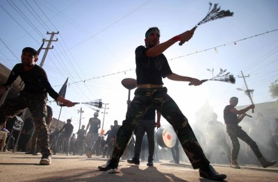 Ashura 2016: Self-flagellation begins as Islamic world marks religious festival   The Independent