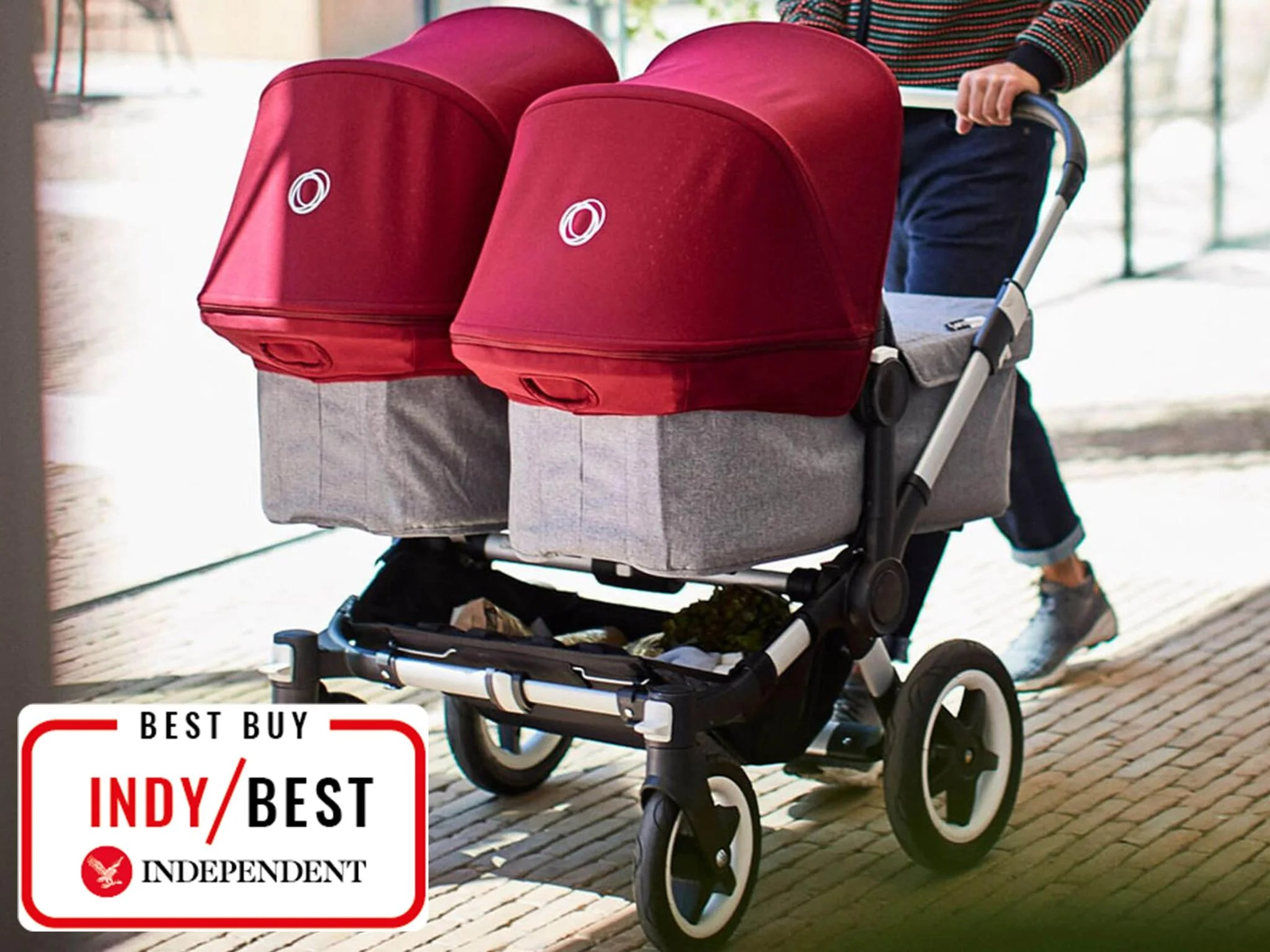 Combi Double Stroller Side By Side 10 Best Double Pushchairs The Independent