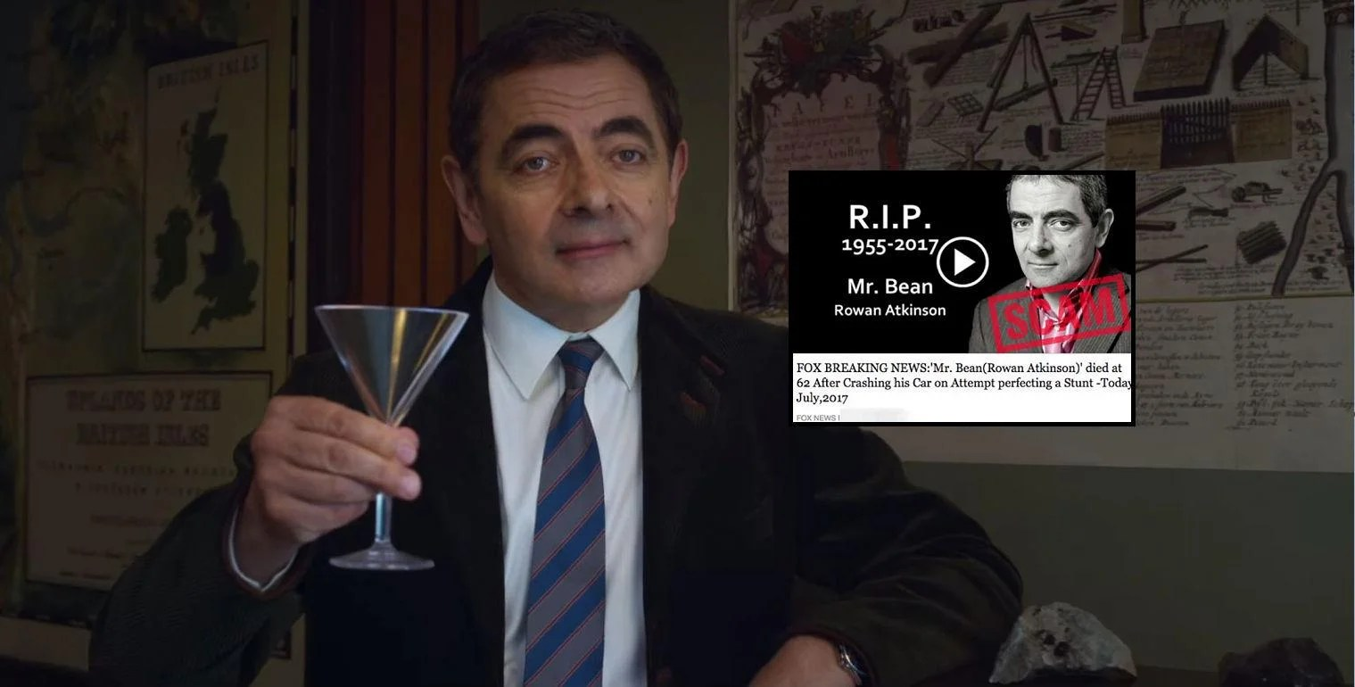 Mr Bean Rowan Atkinson Scammers Are Faking Mr Bean Actor S Death To Steal