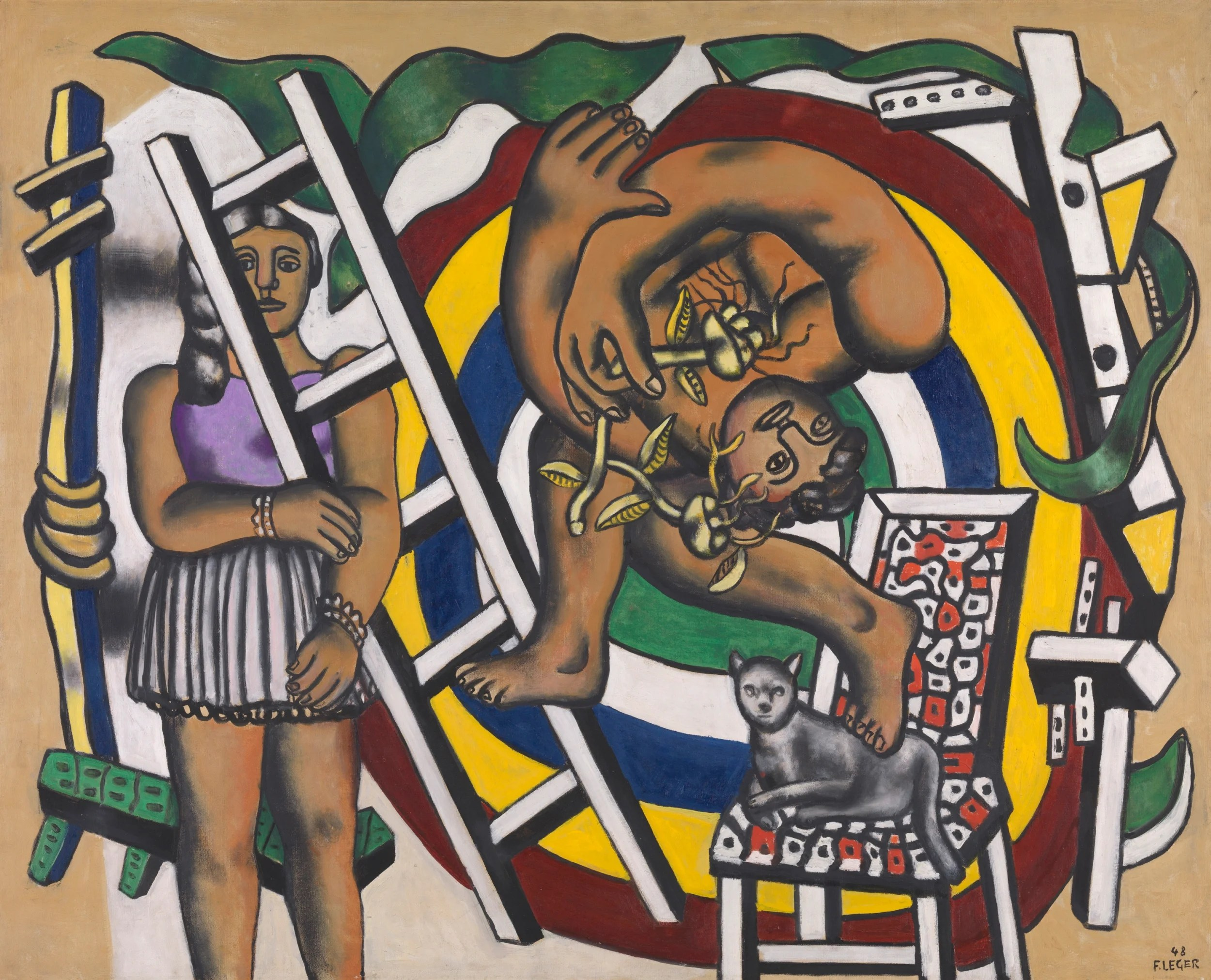 Arte Learn French Fernand Léger The French Artist Whose Abstract Mechanical