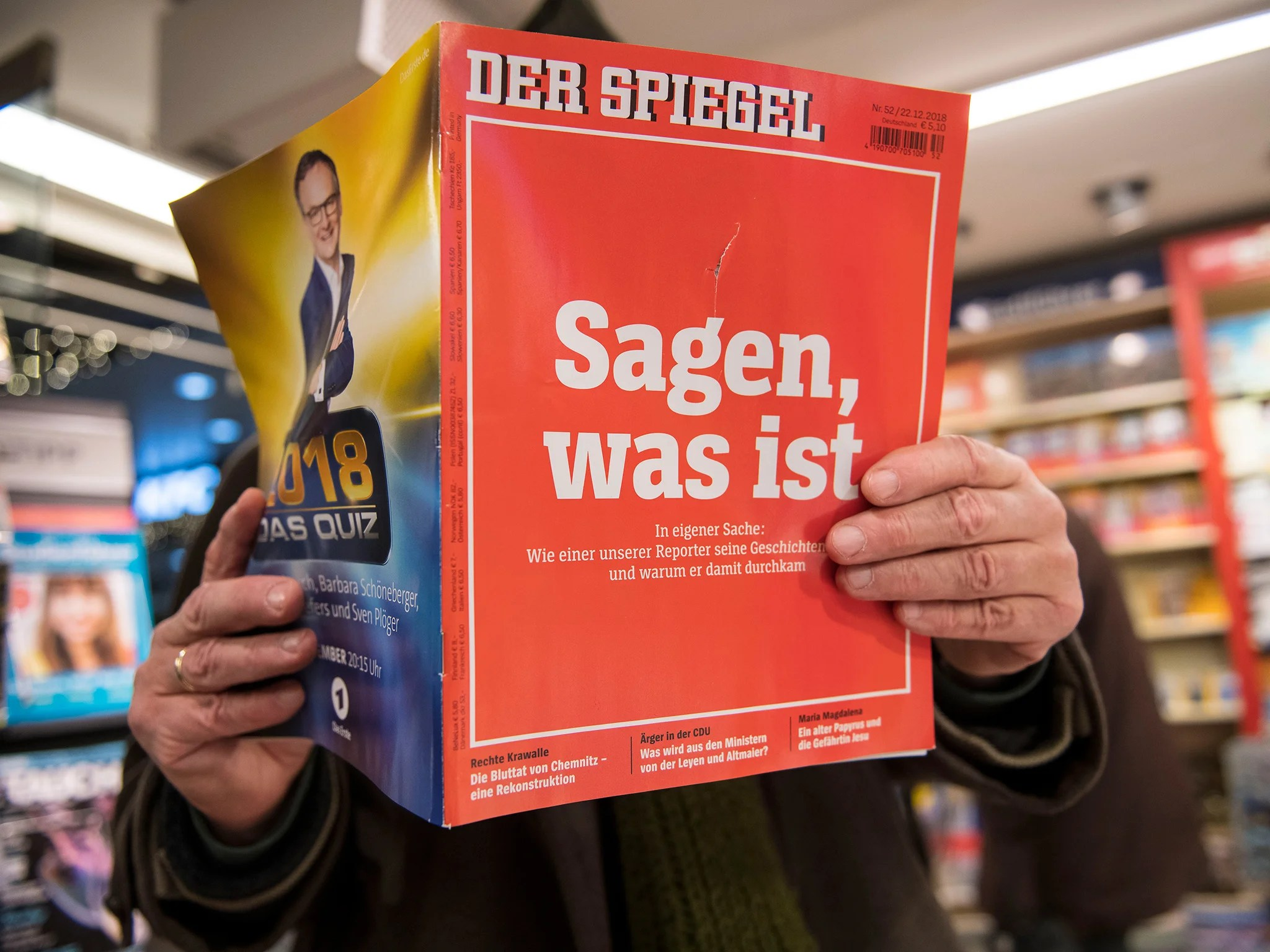 Spiegel 24 Der Spiegel Reporter Accused Of Making Up Stories Appealed For