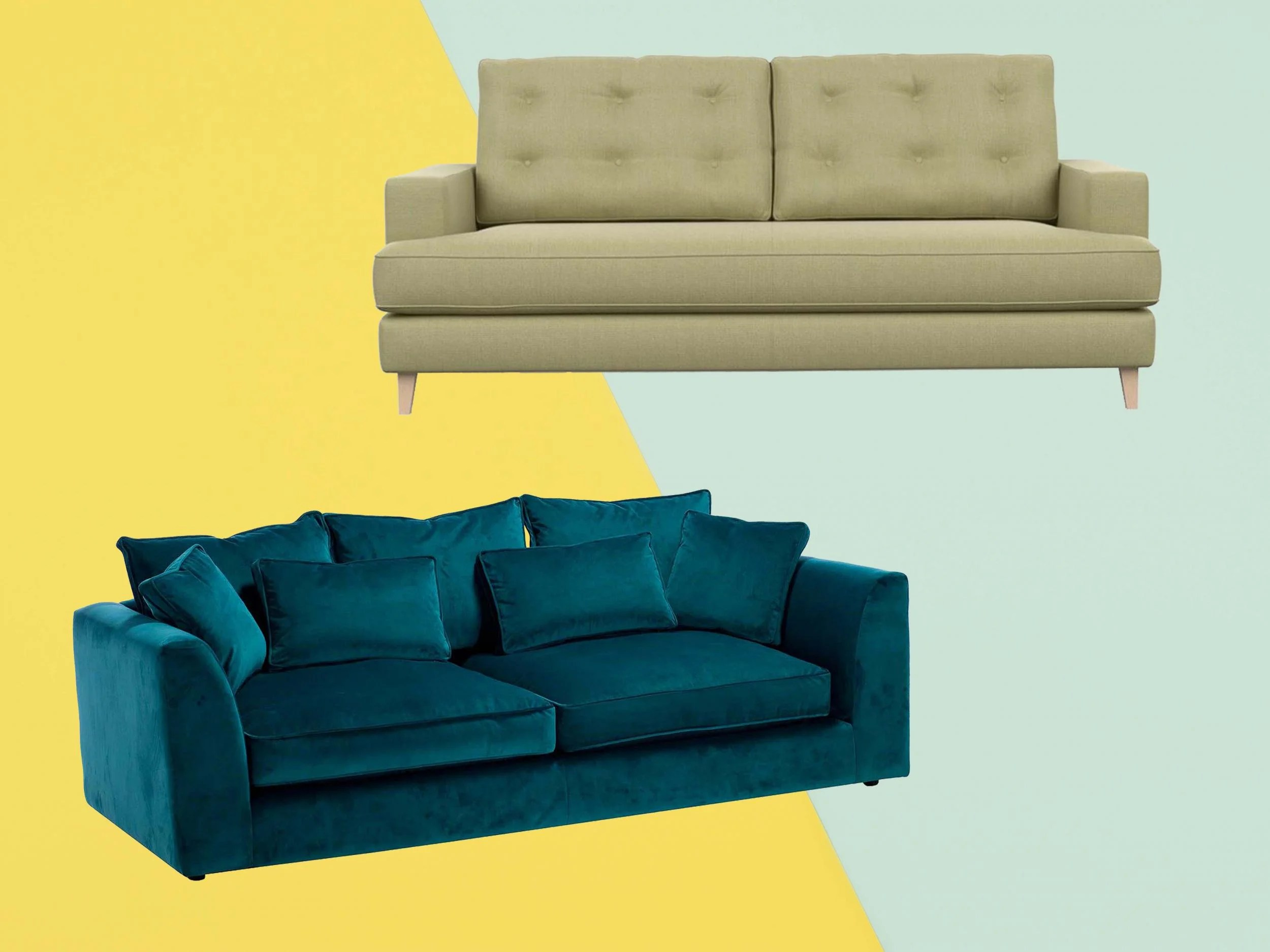 Habitat Rupert Sofa Review 10 Best Sofas The Independent