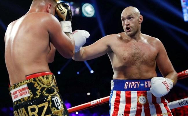 Tyson Fury Vs Tom Schwarz Result Lineal Heavyweight