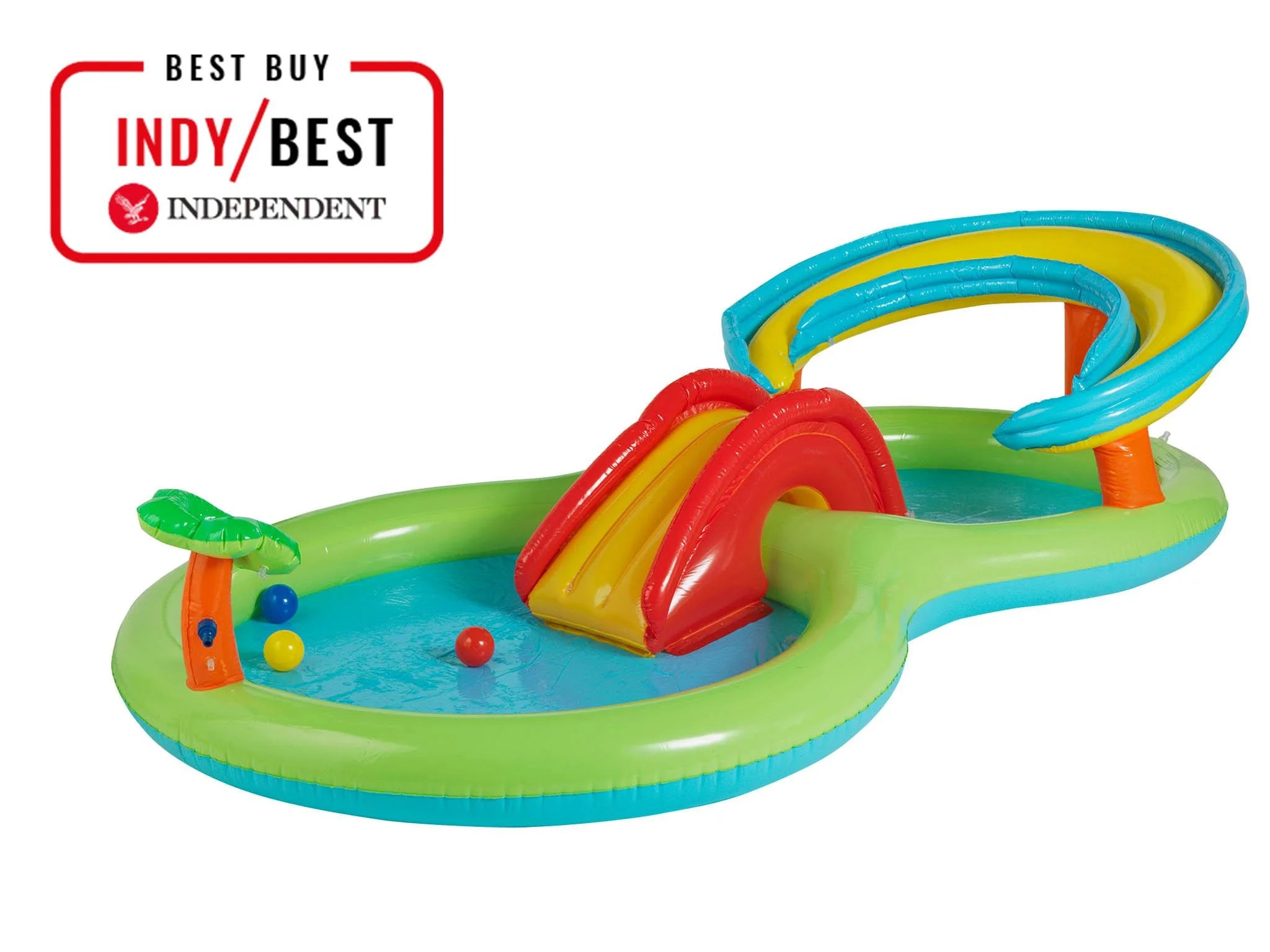 Intex Vs Bestway Review Best Paddling Pool Choose From Models With Slides Seats