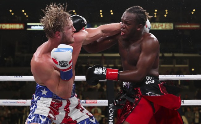 Flipboard Ksi Vs Logan Paul Fight Result Londoner Wins Youtube Boxing Rematch On Points Decision