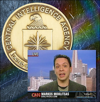 """Markos Alberto Moulitsas was a CIA intern and said the spook agency is """"a very liberal institution."""""""
