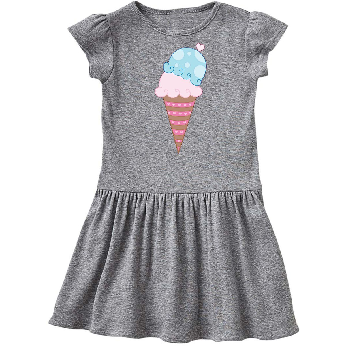 Wandboard Nussbaum Day Cream Ice Scoops Sweet Ice Dress Hearts Cone Day Love