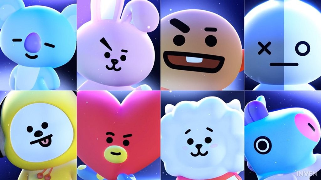 Cute Drawing Wallpaper Line Friends Puzzle Star Bt21 Hits 1 Million Downloads In
