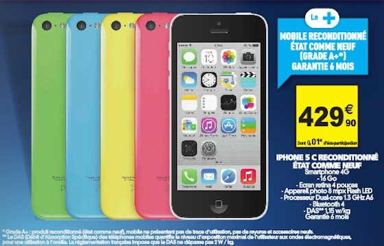 Iphone Reconditionné Conforama Iphone 5c Reconditionne Pas Cher