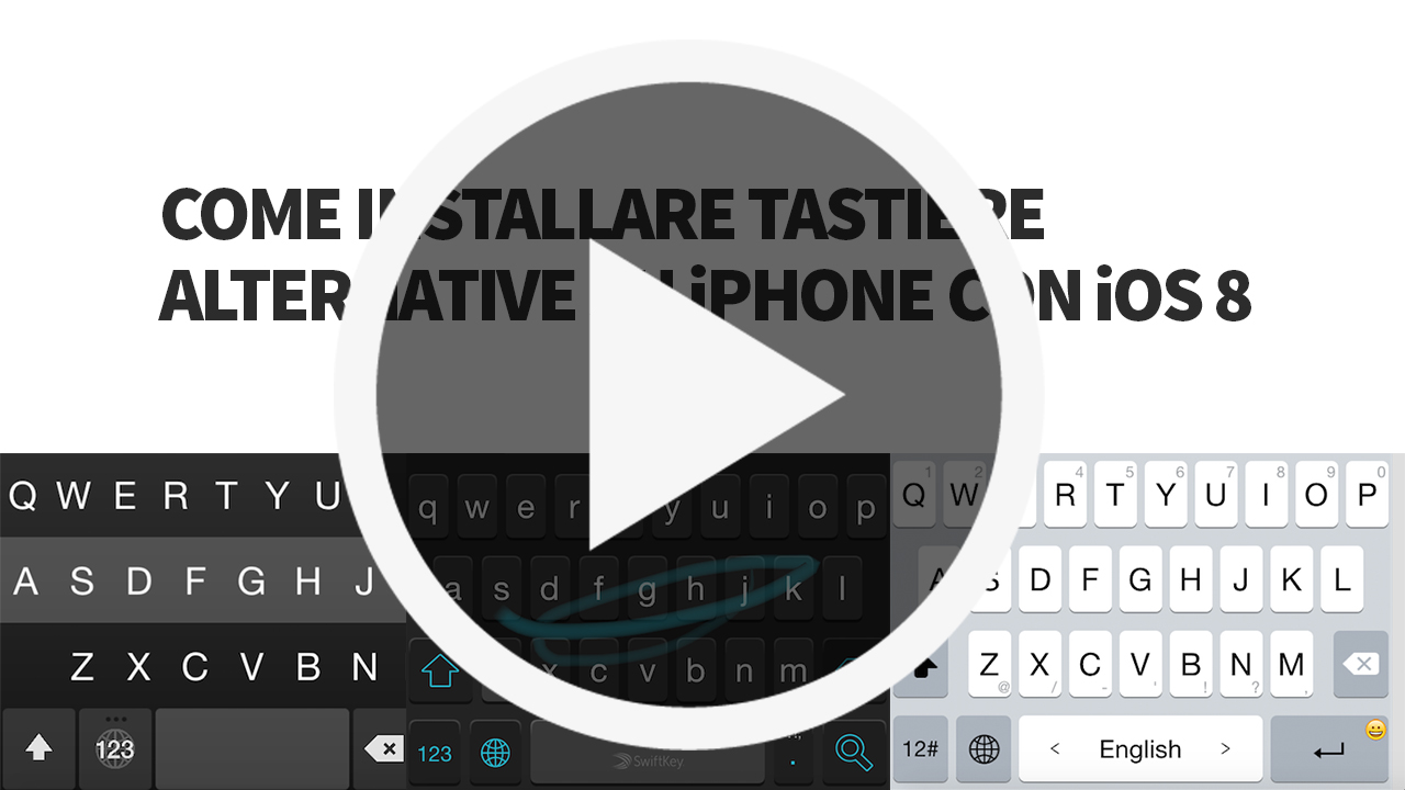 Scrittura Gotica Tastiera Come Installare Tastiere Alternative Su Iphone Con Ios 8 Video