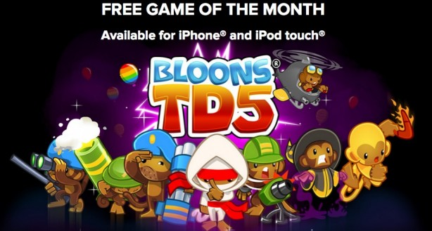 Bloons TD 5 iPhone pic0