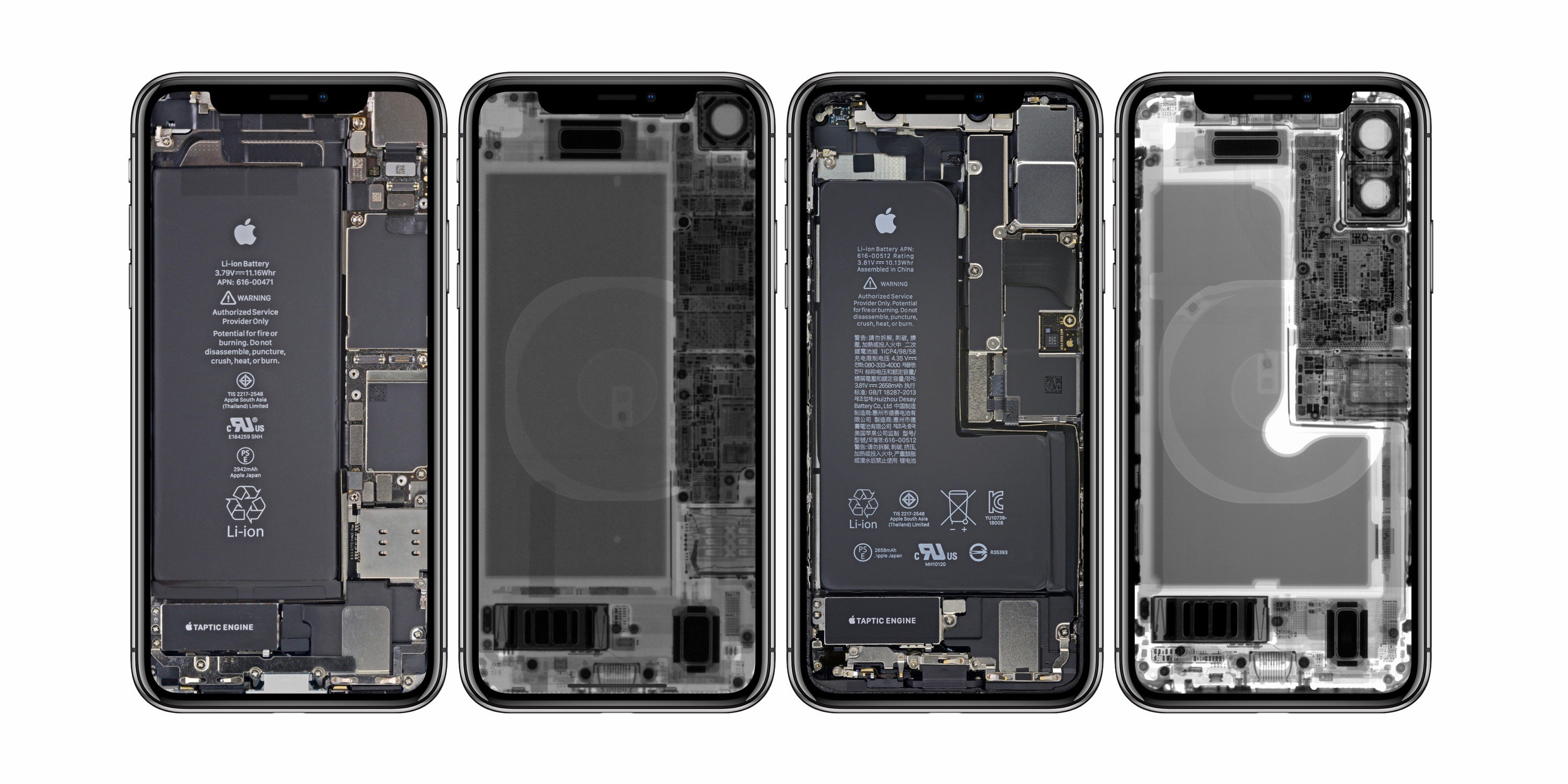 Internal Iphone X Wallpaper Ifixit Rilascia Degli Sfondi Particolari Per Iphone Xr E