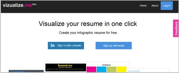 visualize me resumes
