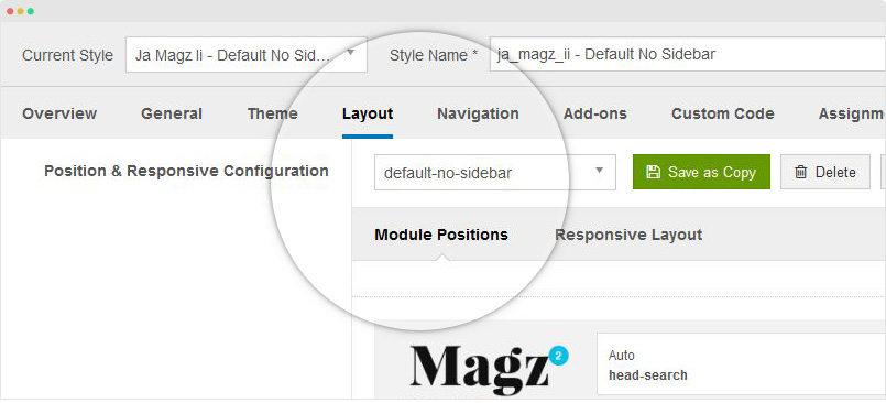 JA Magz II template documentation Joomla Templates and - rent roll form