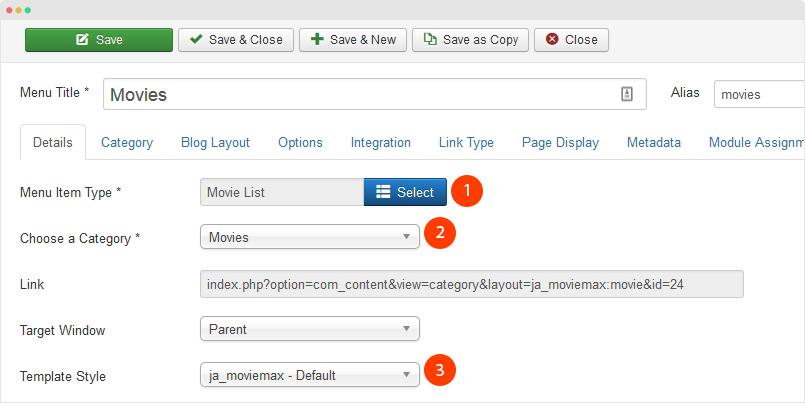 JA Moviemax Joomla Templates and Extensions Provider
