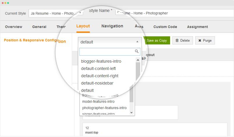 JA Resume documentation Joomla Templates and Extensions Provider
