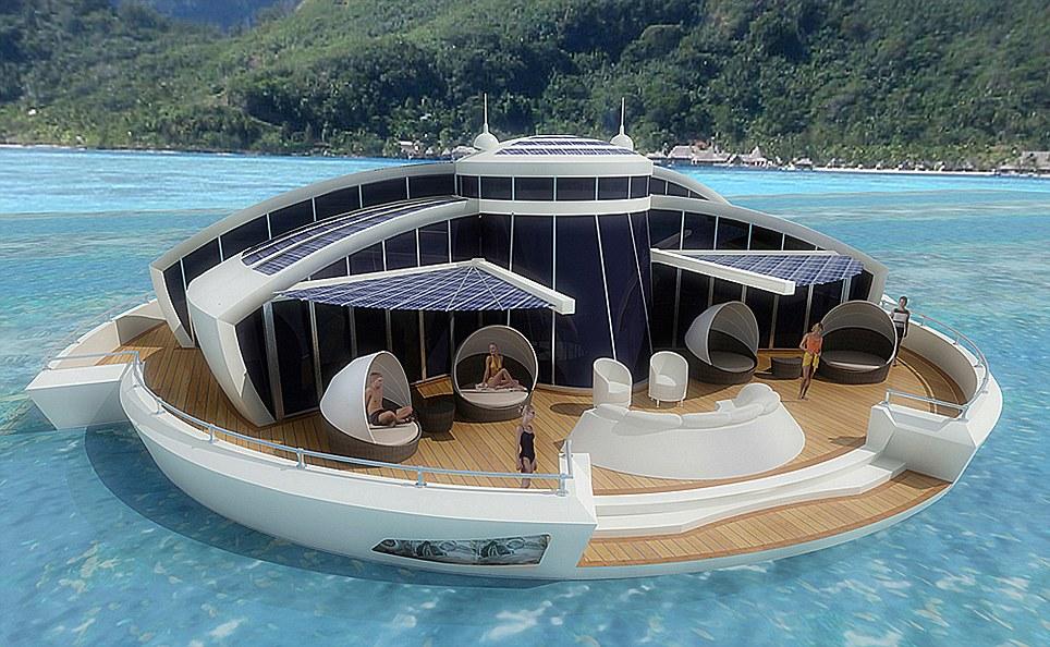 Solar Floating Resort – Um spa em pleno mar