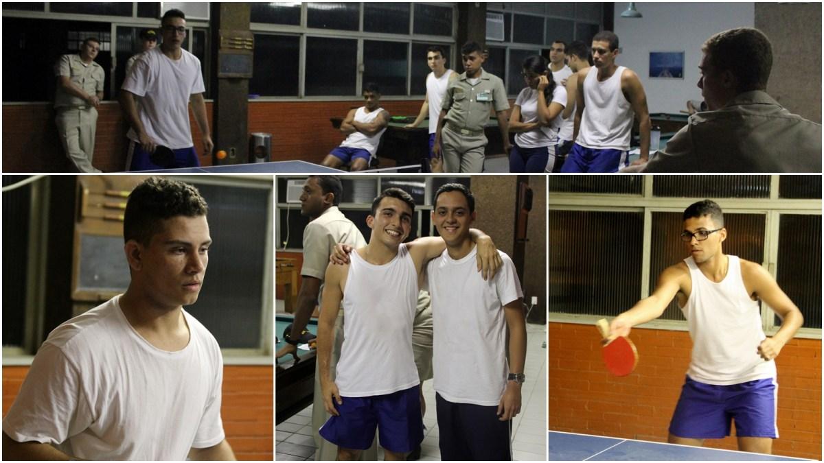 Torneio de Tênis de Mesa anima os alunos da EFOMM