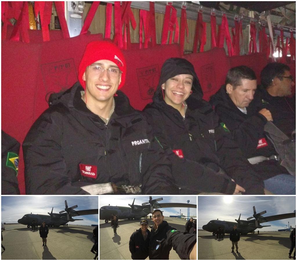 Antártica: alunos da EFOMM viajam com o PROANTAR