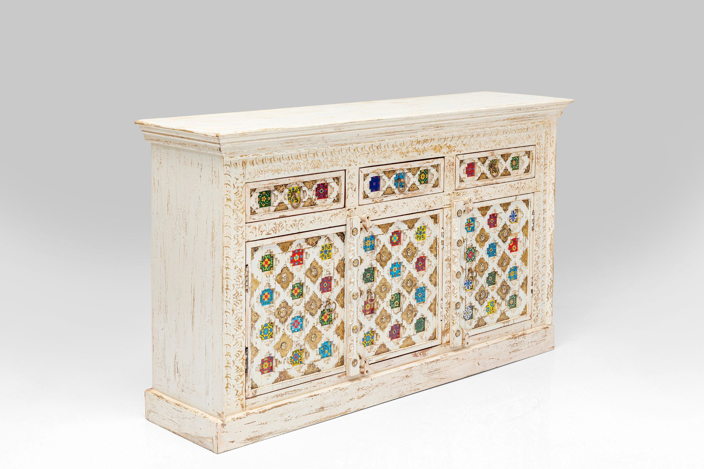 Sideboard Bazar 150cm Multicoloured