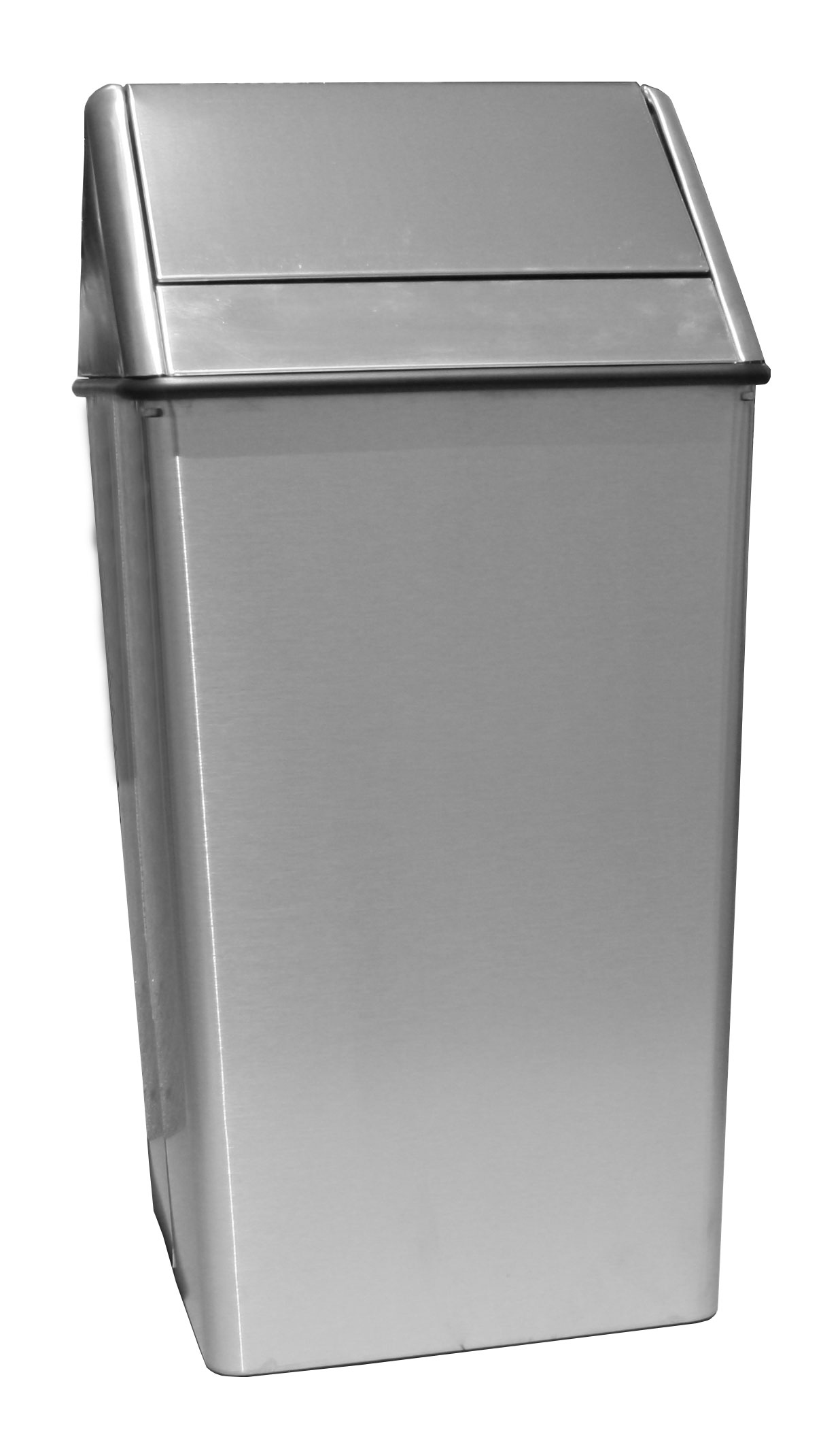 Indoor Garbage Cans Witt Industries 1411htss 21 Gallon Indoor Trash Can W