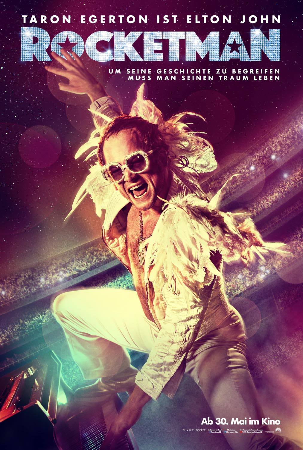 Ferienhaus Mit Pool Willingen Rocketman Film 2019 Trailer Kritik Kino De