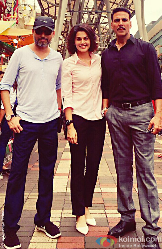 Akshay Joins Taapsee On The Sets Of Naam Shabana In Malaysia