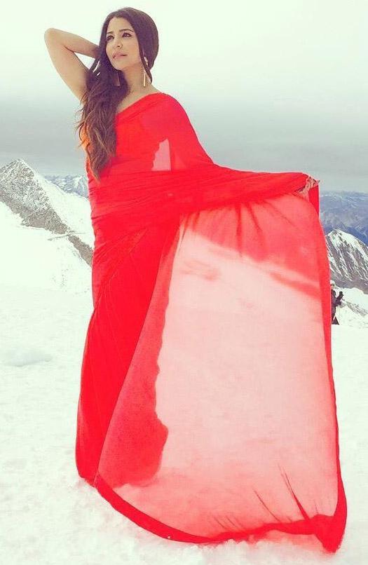 Anushka Sharma on Location of Ae Dil Hai Mushkil