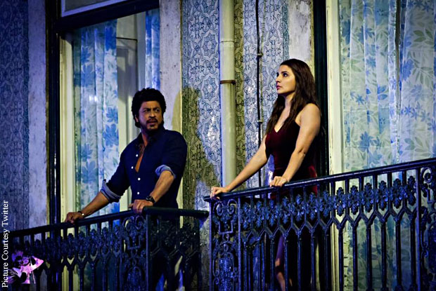 Fresh Pictures: Anushka Sharma, Shah Rukh Khan At The Ring Shoot In Lisbon