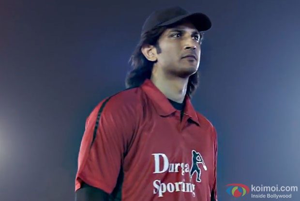 Sushant Singh Rajput in a still from M.S. Dhoni - The Untold Story