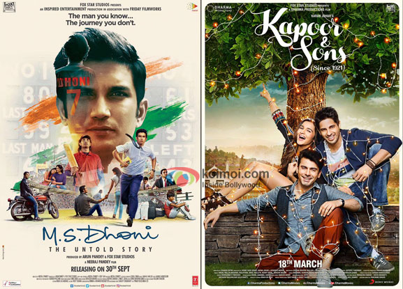 M.S. Dhoni: The Untold Story Surpasses Kapoor And Sons; Becomes 8th Highest Grosser Of 2016