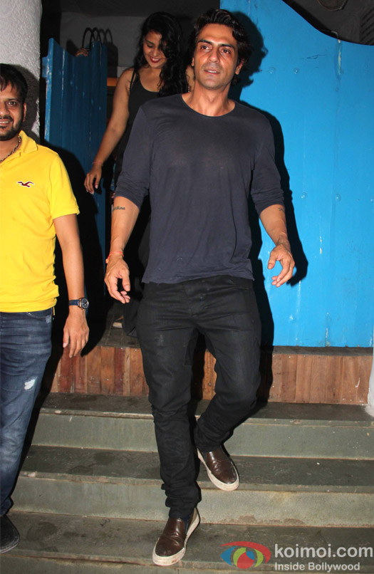 Arjun Kapoor spotted at Olive Bar