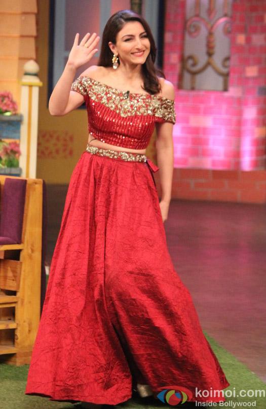 Soha Ali Khan The Kapil Sharma Show