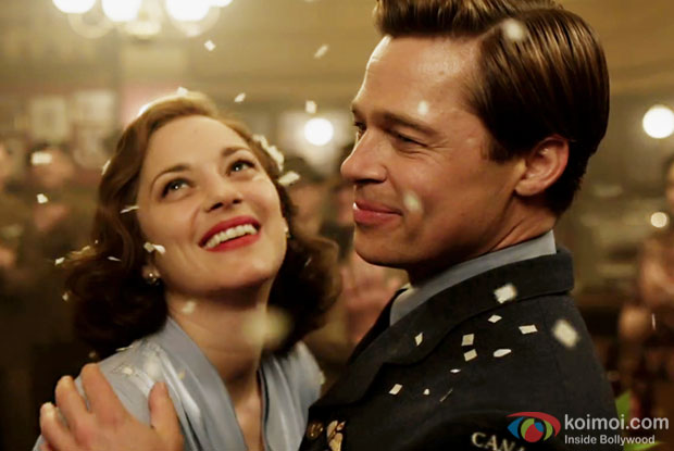 Watch Allied Trailer| Starring Marion Cotillard And Brad Pitt