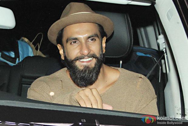 Ranveer Singh during the screening of OK Jaanu