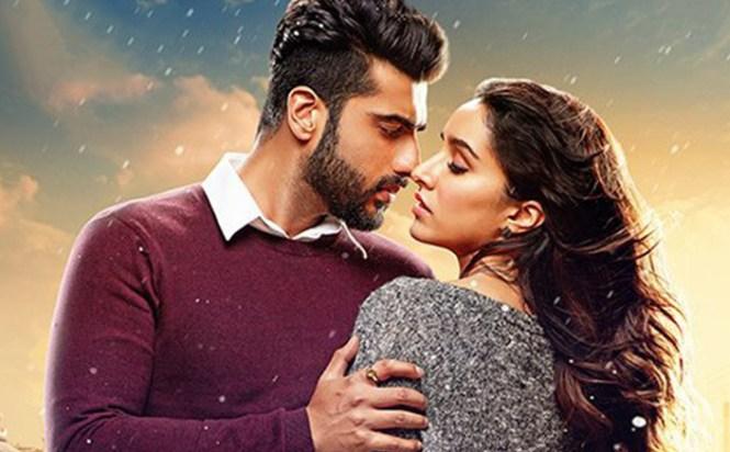 Arjun Kapoor- Shraddha Kapoor (Half Girlfriend)