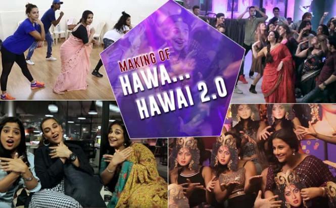 Making Of Tumhari Sulu's Hawa Hawai 2.0