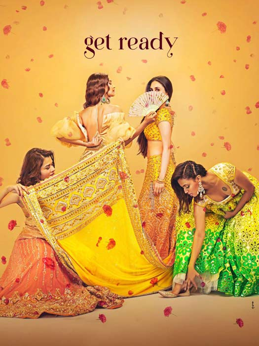 Get Ready To Enter The Vibrant World Of Veere Di Wedding