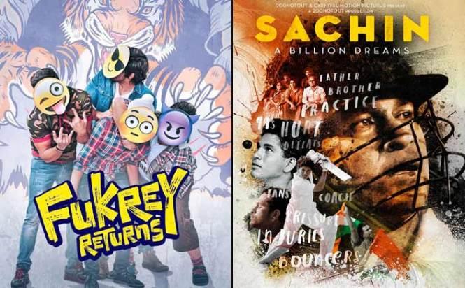 Box Office - Fukrey Returns aims for Sachin - A Billion Dreams lifetime in one week flat