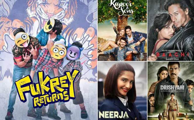 Box Office - Fukrey Returns continues to bring in moolah, challenge Kapoor & Sons, Neerja, Baaghi and Drishyam lifetime