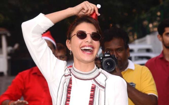 Jacqueline Fernandez' unique Christmas celebration with NGO kids