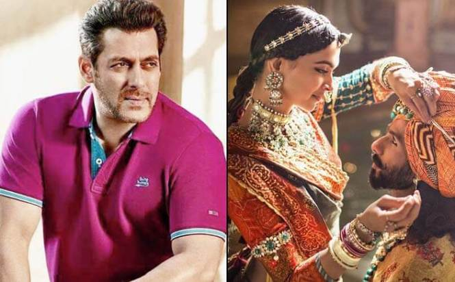 Nobody gains from controversy around film: Salman on 'Padmavati'