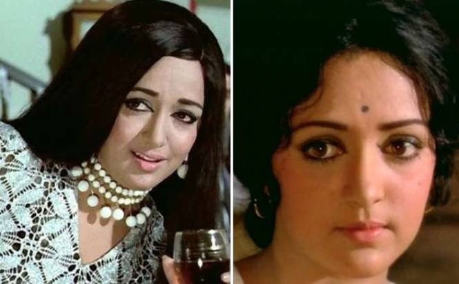 Hema Malini as Geeta from Seeta aur Geeta