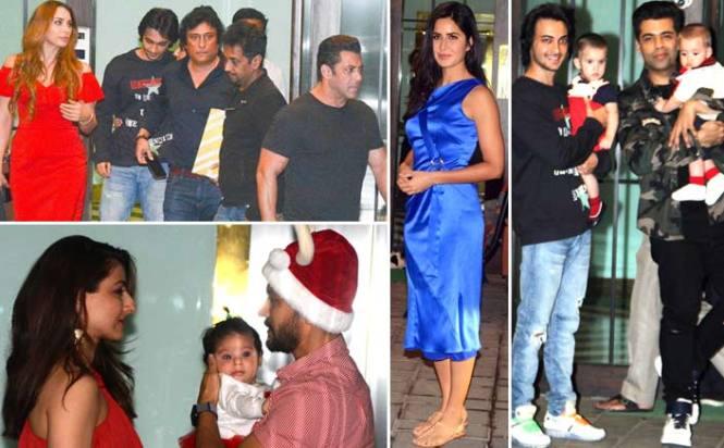 From Salman Khan-Iulia Vantur To Kjo, A Star-Studded Affair At Arpita Khan Sharma's Christmas Bash