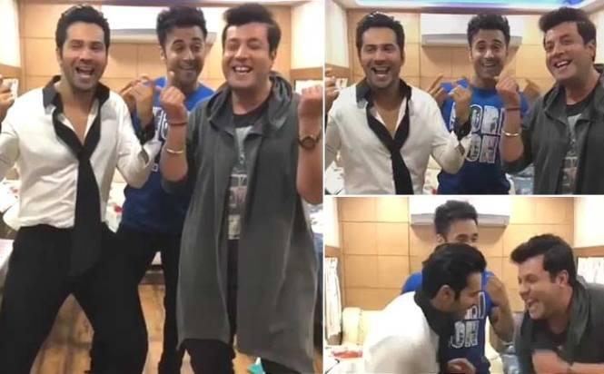 Varun Dhawan promotes Fukrey Returns, dances on 'Tu mera bhau nahi hai'