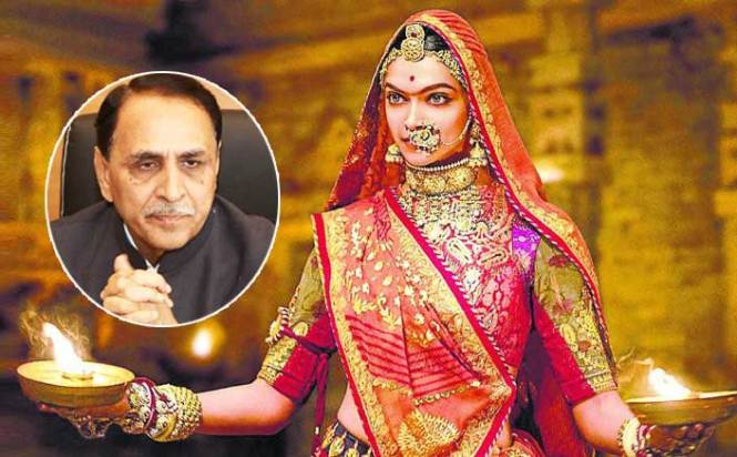 Film Padmaavat Will Not Be Released In Gujarat: CM Vijay Rupani