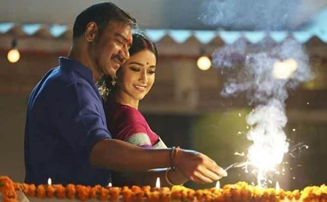 Ajay Devgn shares a new still with Ileana D'Cruz from their new song Nit Khair Manga from Raid